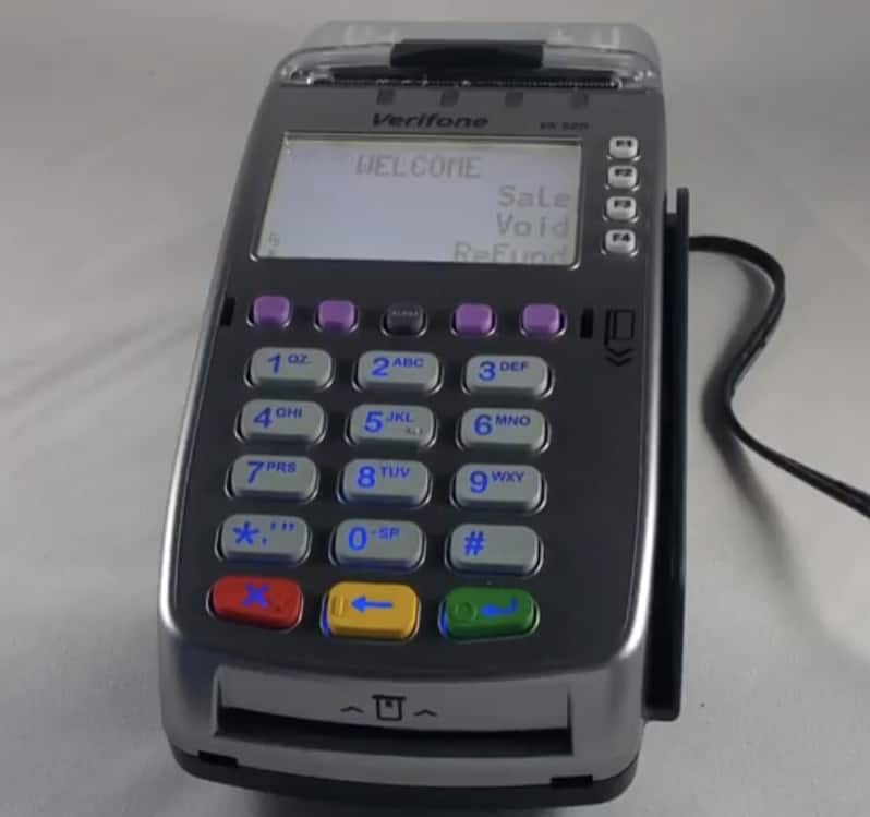 Verifone VX520 AMP Payment Systems