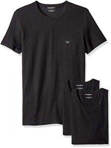 armani crew neck tee shirt