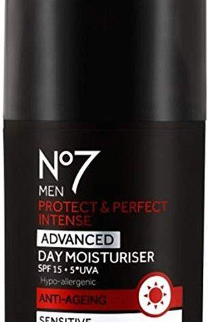 NO7 MEN'S PROTECT & PERFECT INTENSE ADVANCED MOISTURISER