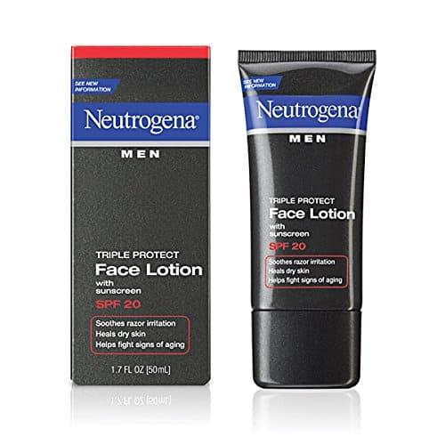 Best facial lotion for men mine